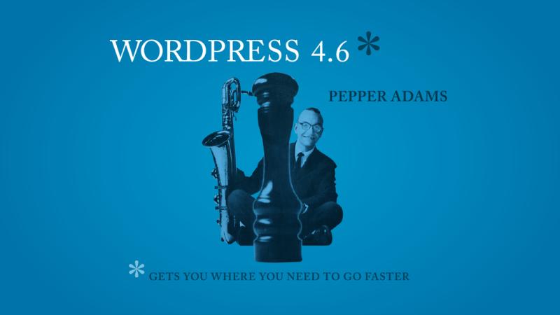WordPress-4.6-Pepper-Released